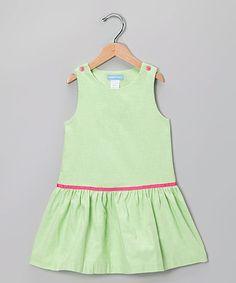 Look what I found on #zulily! Lime Green Jumper - Toddler & Girls #zulilyfinds