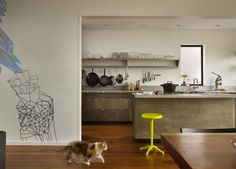 La #cocina conjuga varios estilos a la perfección consiguiendo un toque muy personal.