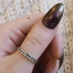 Eloise - Cubic Zirconia & Sterling Silver Heart Ring