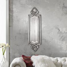 "Uttermost 36"" High Ginosa Wall Mirror"