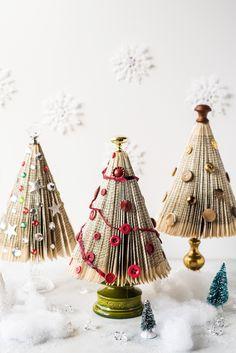 Folded Book Christmas Tree Video Tutorial