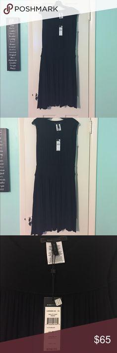 BCBG Max Azria Black Dress Medium NWT BCBG Max Azria Black Dress in color Black size Medium, new with tags. BCBGMaxAzria Dresses Mini