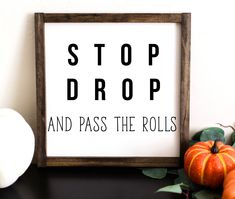 Funny Thanksgiving Decor | Funny Fall Signs | Funny Fall Decor |