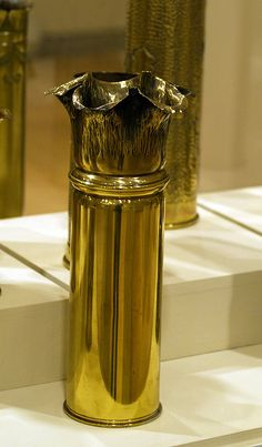 Metal Trench Art 4 by Vilseskogen, via Flickr