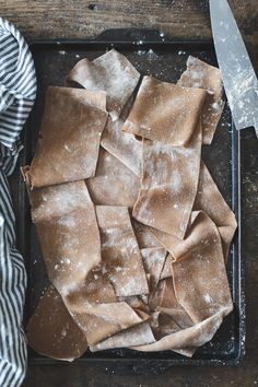 Chestnut Flour Ravioli with Chèvre + Artichoke in Parmesan Pea Broth {Gluten-Free}