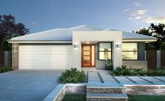Light and spacious, the Warner is a breath of fresh air. With large, broad livin. Light and spacio Simonds Homes, Walk In Robe, Display Homes, Breath Of Fresh Air, New Home Designs, First Home, Open Plan, Master Suite, Facade
