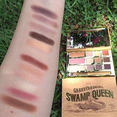 Tarte Swamp Queen palette swatches @demisiriusly