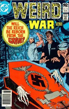 Dc Comics - World War Ii - Scary - Hitler - War Heroes