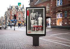 Mupi-ontwerp voor de tentoonstelling van Disfarmer, in opdracht van Foam (Fotografiemuseum Amsterdam).
