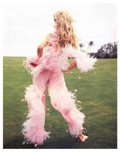 WALTER CHIN - EVA HERZIGOVA Vogue Italia (1993)
