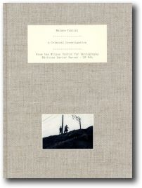 """Photobook """"A CRIMINAL INVESTIGATION"""" by Watabe Yukichi (second edition is now available)"""