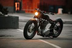 "Suzuki Savage Bobber ""O/2"" by 53 Fast Living"
