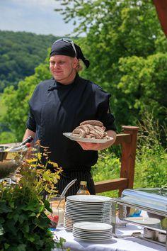 Bratwürste aus Tauberzell bei Rothenburg ob der Tauber. @Allison Powers Greenberg Deutschland | www.highfoodality.com