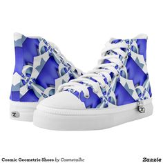 Cosmic Geometrie Shoes Printed Shoes