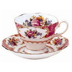 Royal Albert - Lady Carlyle Fine Bone China Teacup & Saucer Set