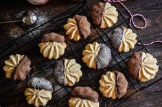 Malted Shortbread Chocolate Dipped Cookies | Imperial Sugar Recipe