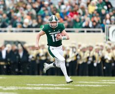 Rocky Lombardi QB - Two-year letterwinner has played in 16 career games, including three starts at quarterback vs. Michigan Game, Michigan State Football, Michigan State University, Iowa State, Penn State Game, National High School, New Hampton, Taking A Knee, School Football