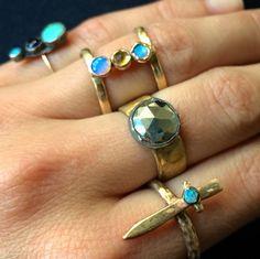 Julie Wolfe rings!