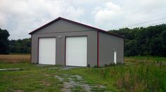 Pole barns barns and building on pinterest for 40x40 garage kit