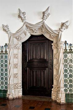 Porta Interior Estilo Manuelino, Sintra