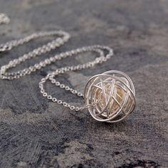 Nest Necklace Silver Medium design inspiration on Fab.