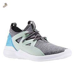 Reebok - Cardio Motion - BD2109 - Color: Grey-Turquoise-White - Size: 7.0 - Reebok sneakers for women (*Amazon Partner-Link)