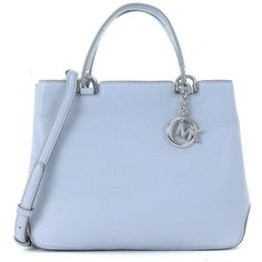 Michael Kors Shoulder Bags (310 CAD) ❤ liked on Polyvore featuring bags, handbags, shoulder bags, accessories, bolsas, grigio, zip tote, michael kors shoulder bag, handbags totes and blue tote bag