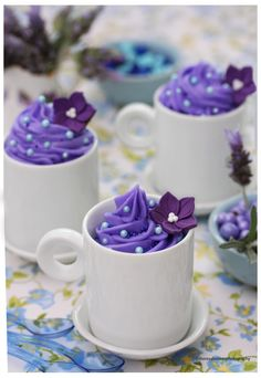 Lavender Mousse - A Delicious and Unique Dessert by theresahelmer on DeviantArt