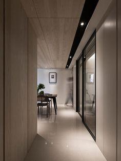 廊道: 玄關、走廊與階梯 by 共禾築研設計有限公司