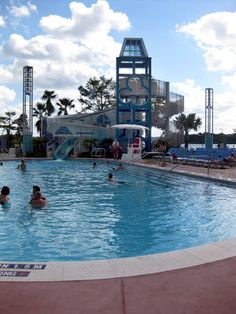 The Pool at Bay Lake Tower is very inviting. Disney Hotels, Hotels And Resorts, Bay Lake Tower, Disney Contemporary Resort, It's Amazing, Disney Stuff, Towers, Walt Disney World, Orlando