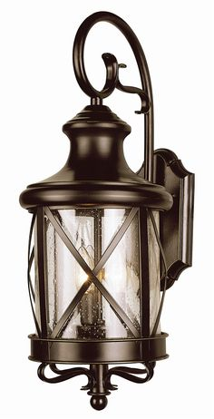 "Trans Globe Lighting 5120 19"" New England Coastal Outdoor Coach Lantern Light"