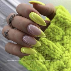 Gorgeous Nails, Pretty Nails, Pretty Eyes, Perfect Nails, Swag Nails, My Nails, Grunge Nails, Diy Neon Nails, Rock Nails