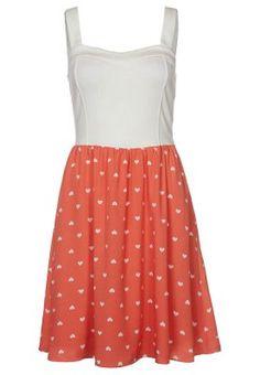 Sommerkjole - oransje