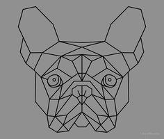 Resultado de imagen para geometric bulldog