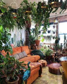 40 Cozy Stylish Bohemian Home Decor Ideas boho decor ideas 40 Cozy Stylish Bohemian Home Decor Ideas Room With Plants, House Plants Decor, Plant Decor, Room Ideas Bedroom, Bedroom Decor, Cozy Bedroom, Deco Retro, Aesthetic Room Decor, Stylish Home Decor