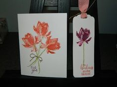 Video Tutorial on how to build the Lotus Blossom 3-step stamp set from Sale-a-bration and Stampin' UP!