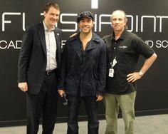 Actor Jeremy Piven visits TFA