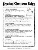 How to have your class create a set of classroom rules and other strategies for cooperative learning classrooms