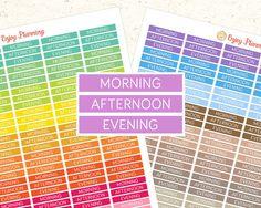 PRINTABLE planner stickers Erin Condren planner by EnjoyPlanning