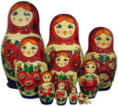 Russian nesting dolls are adorable!