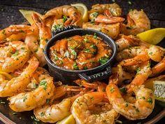 Pork Rib Recipes, Traeger Recipes, Grilled Steak Recipes, Grilled Pork Chops, Grilled Shrimp, Grilled Meat, Salmon Recipes, Grilling Recipes, Seafood Recipes