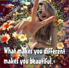 ☮ American Hippie ☮ Just be you!
