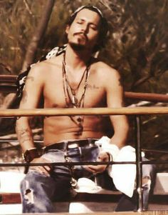 Johnny Depp looking good