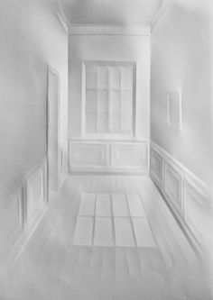 Untitled (wandering daylight 9), 2015, paper, 42 x 29,7 cm