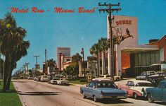 Motel Row - Miami Beach, Florida by The Pie Shops, via Flickr