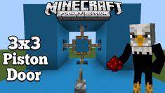 Hello and welcome back to another redstone tutorial. Today i am gona show you how to make cool piston door in minecraft bedrock This is one of the. Minecraft Redstone Tutorial, Minecraft Plans, Minecraft Blueprints, Cool Minecraft, Minecraft Creations, Minecraft Projects, Minecraft Crafts, Minecraft City Buildings, Building Ideas