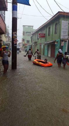 Rain in Belize City