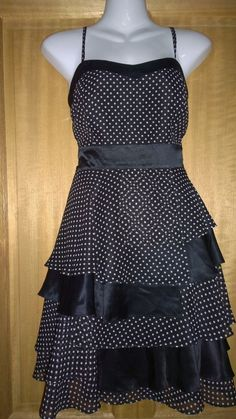 Coast women s black & white polka dot corset style dress. Party Dresses For Women, Wedding Outfits, Corset, Size 14, Polka Dots, Black And White, Best Deals, Ebay, Shopping