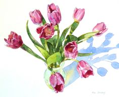 tulip watercolor - Google Search