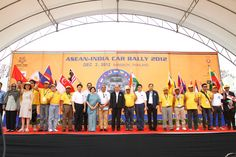 YOGYAKARTA (Indonesia): The ASEAN-India car rally is not only commemorating the 20 years of dialogue but also looking at establishing more people-to-people connectivity and economic co-operation among its member nations, Ambassador of India to the Republic of Indonesia, HE Gurjit Singh said on Sunday.  http://articles.timesofindia.indiatimes.com/2012-11-25/top-stories/35347266_1_asean-india-india-asean-india-and-asean